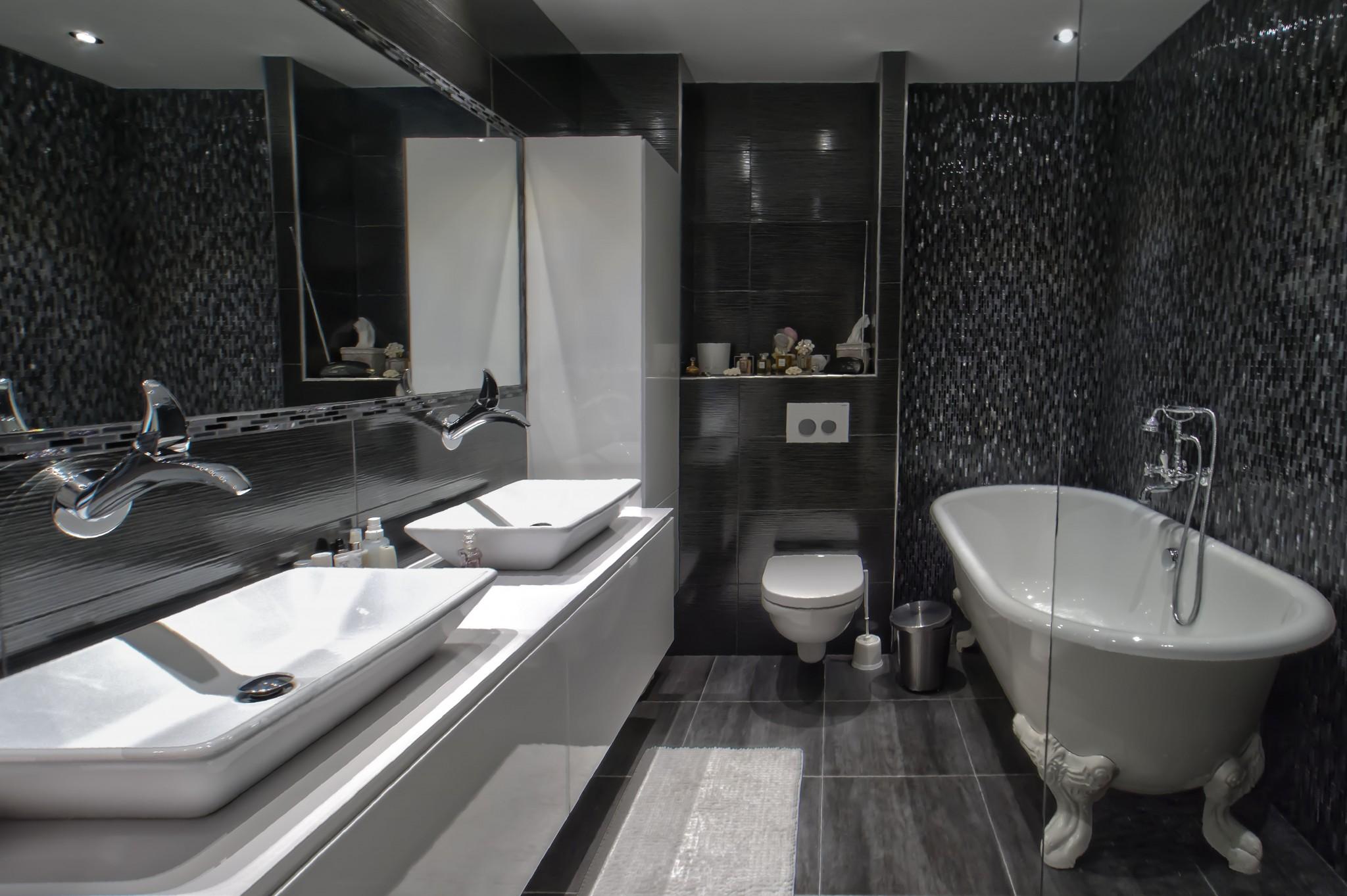 Salle de bains des maitres des ajustements l anglaise for Salle de bain style campagne anglaise